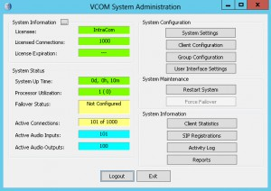 VCOM User Guide Device Interface VSA