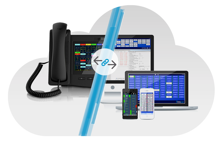 Hoot-n-Holler VoIP Intercom System Device Interface Screenshot